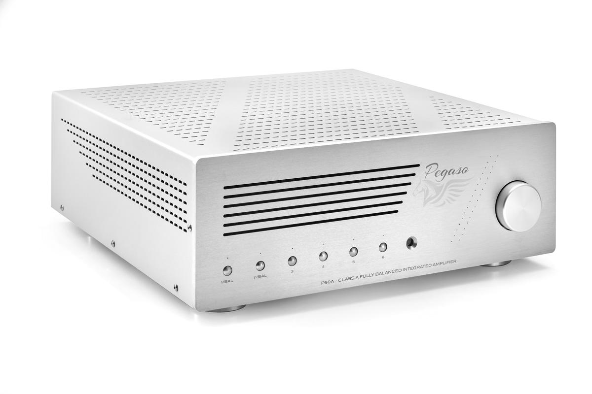 P50A – Tube integrated amplifier – Pegaso Audio